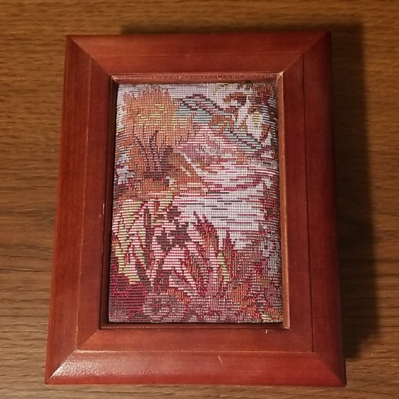Floral Stitched Jewelry Box